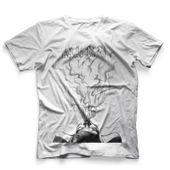 CamisetaMasculinaHookahAddctionSmokeGirlBrancaGrande