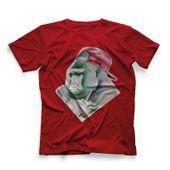 CamisetaMasculinaHookahAddctionGorilaVermelhaMedio