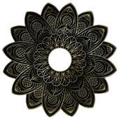 Prato-Alusi-Medio-Mantra-Dourado-Old