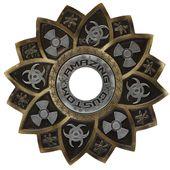 Prato-Amazing-Custom-Trifolio-Dourado-com-Prata