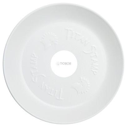 Prato-Titan-Stamp-Medio-Branco-Texturizado