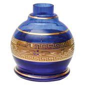 Base-Shisha-Glass-Pequena-Jumbinho-Grega-Azul-Escuro