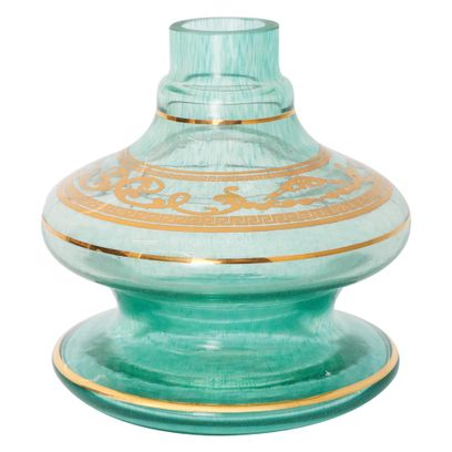 Base-Shisha-Glass-Pequena-Nix-Arabesco-Verde