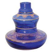 Base-Shisha-Glass-Pequena-Style-Flor-Azul-Escuro