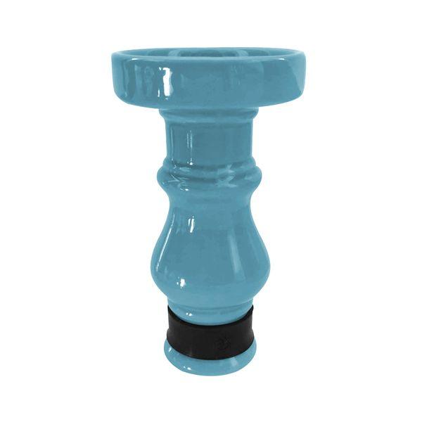 Queimador-Femea-BRmade-Phunnel-Econo--Azul-Claro-com-Borracha-Preto