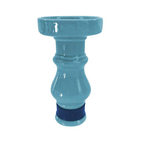Queimador-Femea-BRmade-Phunnel-Econo--Azul-Claro-com-Borracha-Azul