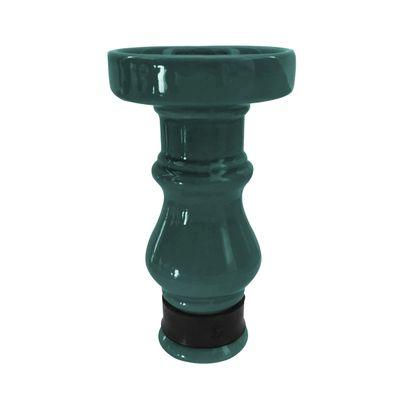 Queimador-Femea-BRmade-Phunnel-Econo--Verde-Escuro-com-Borracha-Preto