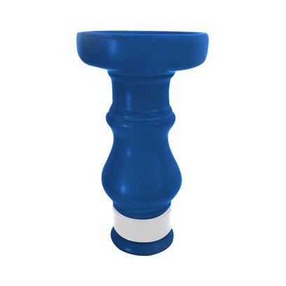 Queimador-Femea-BRmade-Phunnel-Econo--Azul-Escuro-Fosco-com-Borracha-Branco