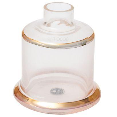 Base-Shisha-Glass-Pequena-Evolution-Faixa-Dourada-Incolor
