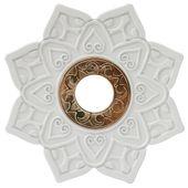 Prato-Invictus-New-Love-Branco-com-Dourado