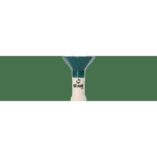 Queimador-Femea-BRmade-Octa-Phunnel-Verde-Escuro-e-Branco