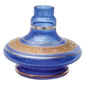 Base-Shisha-Glass-Pequena-Aladim-Grega-Azul