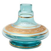 Base-Shisha-Glass-Pequena-Aladim-Grega-Azul-Claro