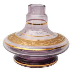 Base-Shisha-Glass-Pequena-Aladim-Grega-Roxo