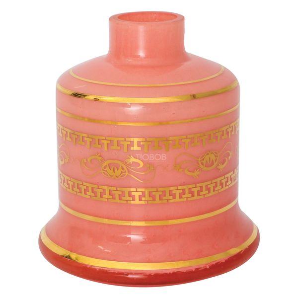 Base-Shisha-Glass-Pequena-Evolution-Arabesco-Rosa