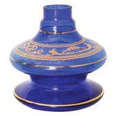 Base-Shisha-Glass-Pequena-Nix-Arabesco-Azul-Escuro