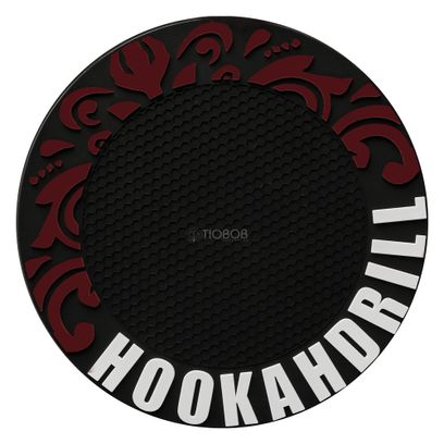 Tapete-Borracha-Stick-Hookah-Strike-Vermelho