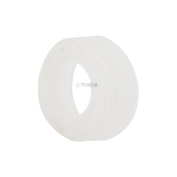 Borracha-para-Base-Zouk-Pequena-Fina-ZBP1-Branco