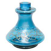 Base-Zouk-Bohemia-Pequena-Genie-Gem-Azul-Claro-com-Prata