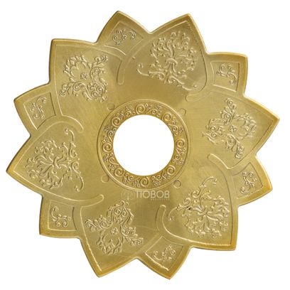 Prato-Amazon-Pequeno-Hawk-Dourado