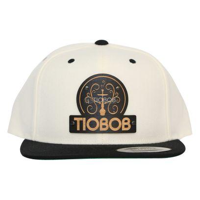 Bone-Snapback-TioBob-Branco-com-aba-Preta