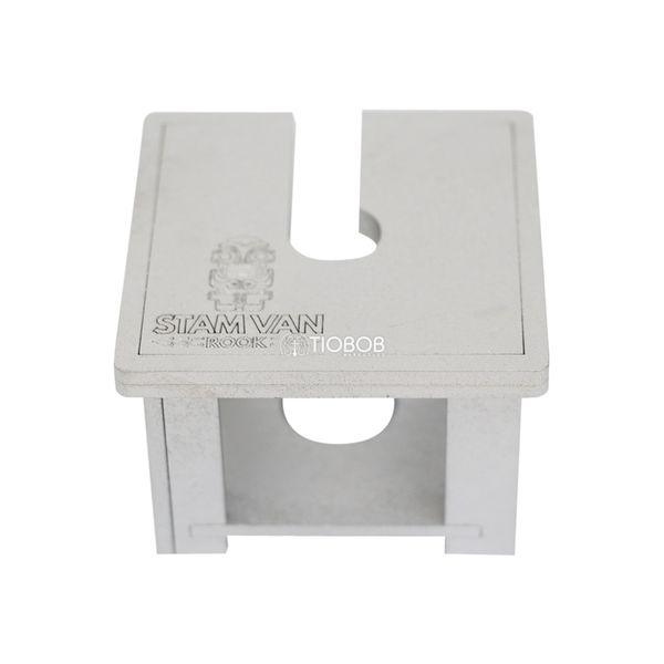 Mesa-para-Furador-Stam-Van-Spider-Foil-Prata