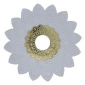 Prato-Alusi-Medio-Mantra-Branco-Dourado