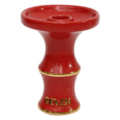 Queimador-Phunnel-Seven-Hookah-Gold-Vermelho