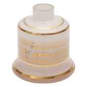 Base-Shisha-Glass-Pequena-Evolution-Arabesco-Branco