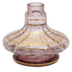 Base-Shisha-Glass-Pequena-Aladim-Rigado-Arabesco-Roxo