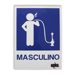 Placa-Kong-Masculino