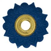 Prato-Joy-Medio-Mehndi-Azul-com-Dourado