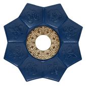Prato-Joy-Medio-Lotus-Azul-Dourado