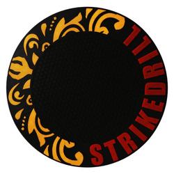 Tapete-Borracha-Stick-Hookah-Strike-Preto-com-Vermelho-e-Dourado