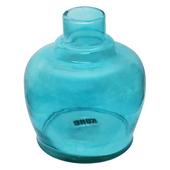Base-de-Vidro-Pequena-Kong-Glass-QT-Azul-Turquesa