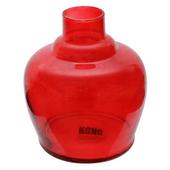 Base-de-Vidro-Pequena-Kong-Glass-QT-Vermelha
