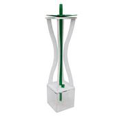 Narguile-Experience-Hourglass-Branco-com-Verde