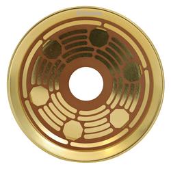 Prato-Volkano-Dourado-com-Marrom