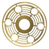 Tela-para-Prato-Volkano-Dourado