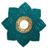 Prato-Invictus-Grande-New-Love-Verde-com-Dourado