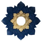 Prato-Joy-Pequeno-Fire-Azul-com-Dourado