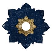 Prato-Joy-Medio-Fire-Azul-com-Dourado