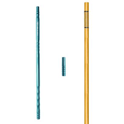 Mangueira-Joy-Gravity-Dourado-com-Azul-Claro