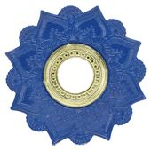 Prato-Joy-Pequeno-Mehndi-Azul-com-Dourado