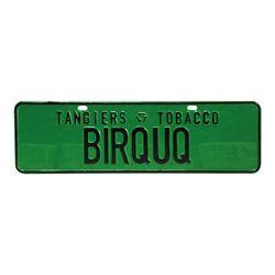 Placa-Tangiers-Club-Birquq-Verde