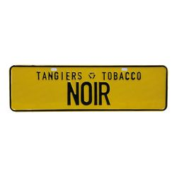 Placa-Tangiers-Club-Noir-Amarelo