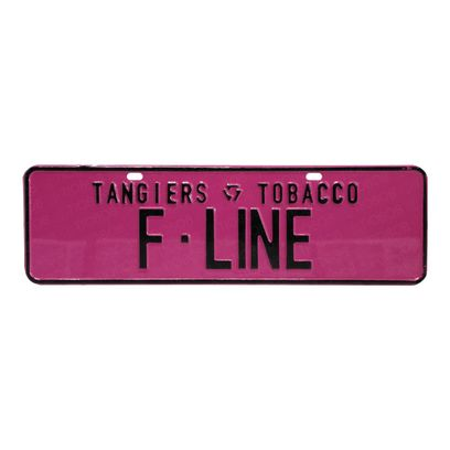 Placa-Tangiers-Clube-F-Line-Rosa