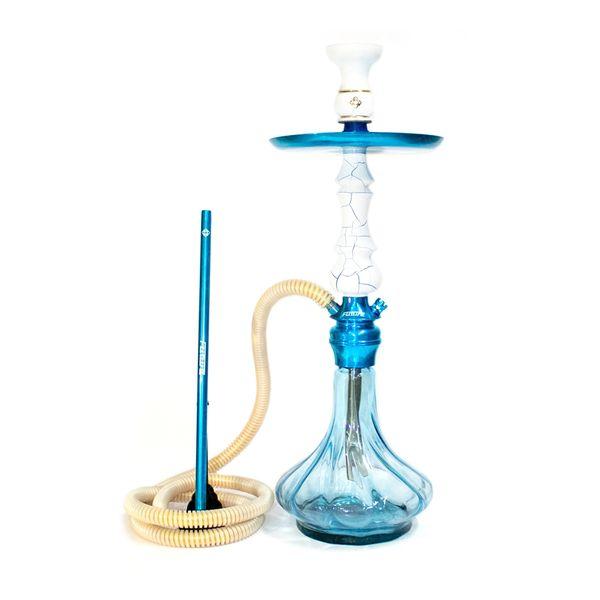 Narguile-amazon-Future-Onix-Azul-com-Branco-Twist
