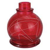 Base-Art-Glass-Ball-Branco-Vermelho