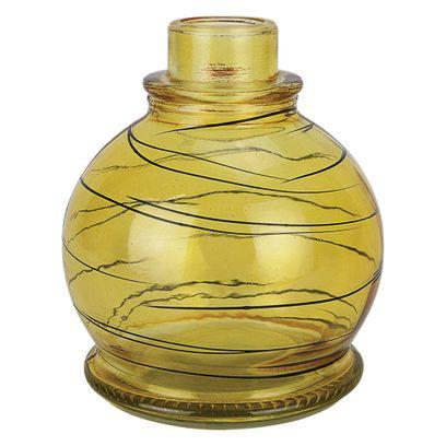 Base-Art-Glass-Pequeno-Ball-Preto-Amarelo